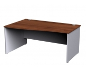 Duo Panel Leg Left Hand Wave Desk