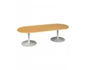 RADIAL END BOARDROOM TABLE - PLEASE CALL FOR PRICING
