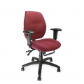 SEVERN ERGONOMIC MEDIUM BACK MULTI-FUNCTIONAL TASK OPERATOR CHAIR WITH ADJUSTABLE ARMS