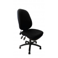 CARLISE PUMP UP LUMBAR OPERATOR CHAIR