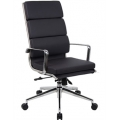 SAVOY HIGH BACK LEATHER OFFICE CHAIR - PLEASE CONTACT US FOR PRICING
