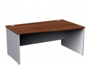 Duo Panel Leg Right Hand Wave Desk