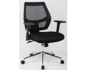 FABRIC MESH OPERATOR CHAIR