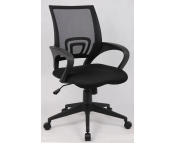 BLACK MESH MANAGERS OPERATORS CHAIR