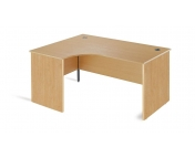 ERGONOMIC DESK WITH PANEL LEG