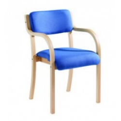 Wooden Frame Conference Meeting Chair