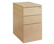 3 DRAWER DESK HIGH DELUXE PEDESTAL