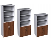DUO STANDARD COMBINATION UNITS +WOOD DOORS + OPEN TOPS