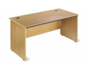 STRAIGHT DESK WITH PANEL END LEG
