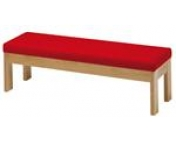 Solid beech frame bench
