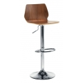 CAFE BISTRO WOODEN SEAT BAR STOOL