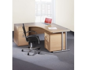 ERGONOMIC DESK & PEDESTAL BUNDLE OFFER