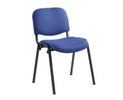 MEETING STACKING CHAIR BLACK FRAME