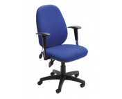 SOFIA MANAGERS FABRIC HIGH BACK CHAIR