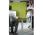 SIT-STAND DESKING SCREENS