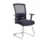 MESH VISITORS CHAIR WITH ARMS - PLEASE CONTACT US FOR PRICING