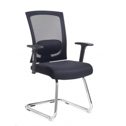 MESH VISITORS CHAIR WITH ARMS