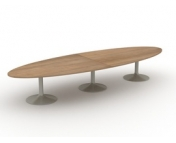 ELIPTICAL BOARDROOM TABLE - PLEASE CONTACT FOR PRICING