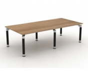 RECTANGULAR BOARDROOM TABLE SOLO LEGS (Glass optional) PLEASE CALL FOR PRICING