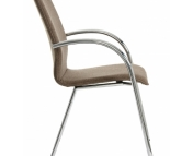 Mesto Chrome 4 leg conference chair