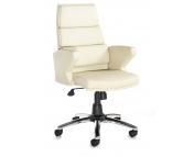 LEATHER FACED EXECUTIVE HIGH BACK CHAIR